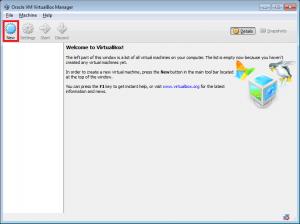 VirtualBox tworzenie nowej wirtualnej maszyny.